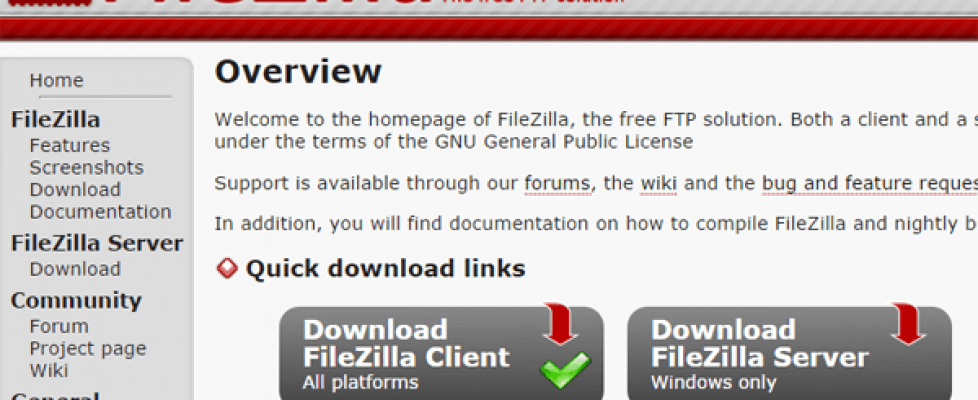 download-fileziila
